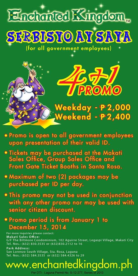Halo Halong Pinoy Enchanted Kingdom 2014 Entrance Rates