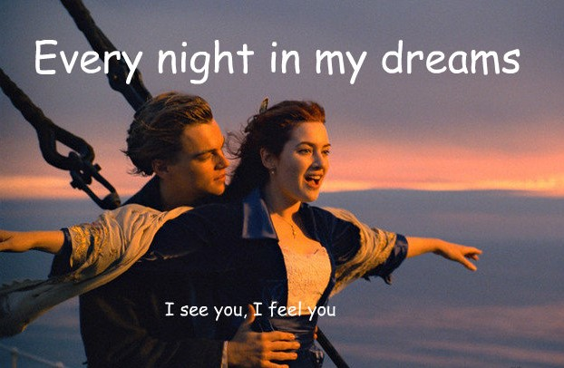 Every Night In My Dream - Titanic Song - All Song Lyrics