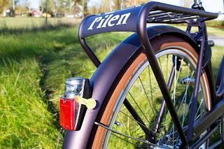 Pilen bicicleta clasica nuevo color durapurple