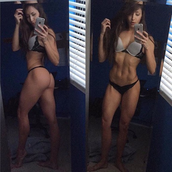 Stephanie Marie Fitness Model