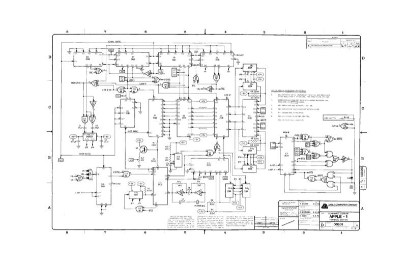 el MAC buscado: Apple 1: Manual eléctrico
