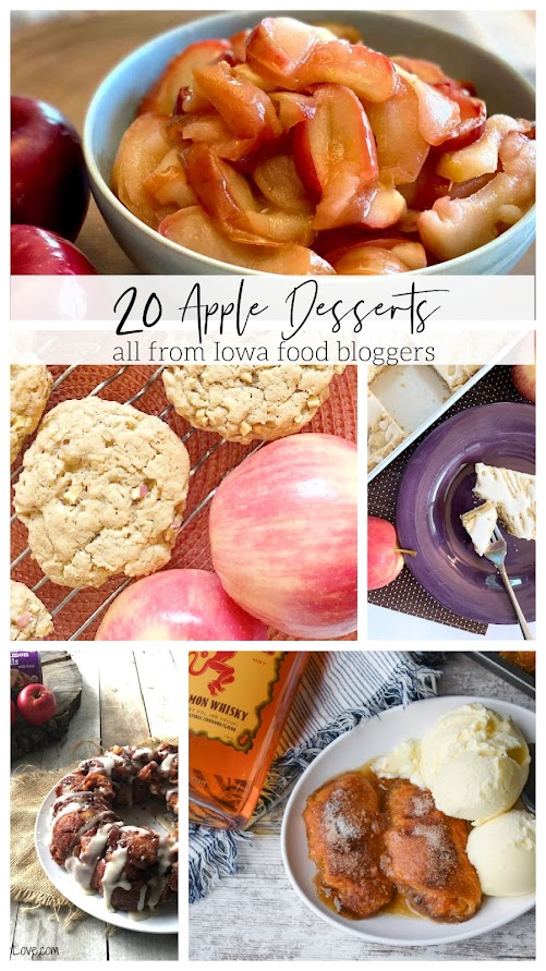 20 Apple Desserts (all from Iowa food bloggers)