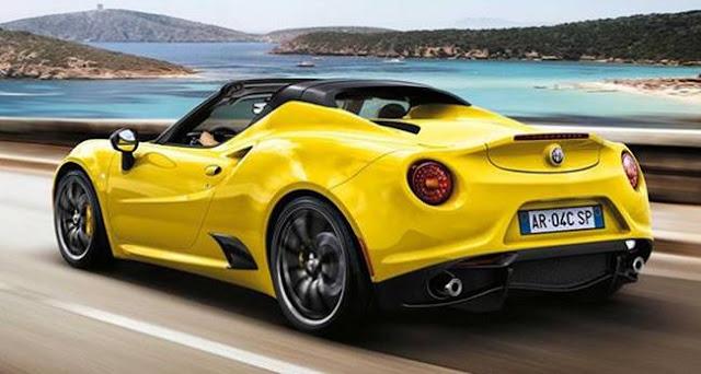 New Alfa Romeo Spider 2016