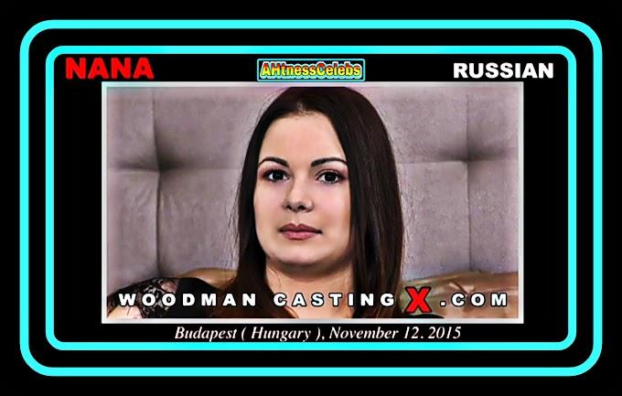 Nana Russian - Woodman CastingX (2015) HD 720p
