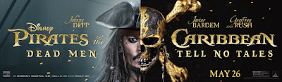 Pirates of the Caribbean Dead Men Tell No Tales Banner Poster 1