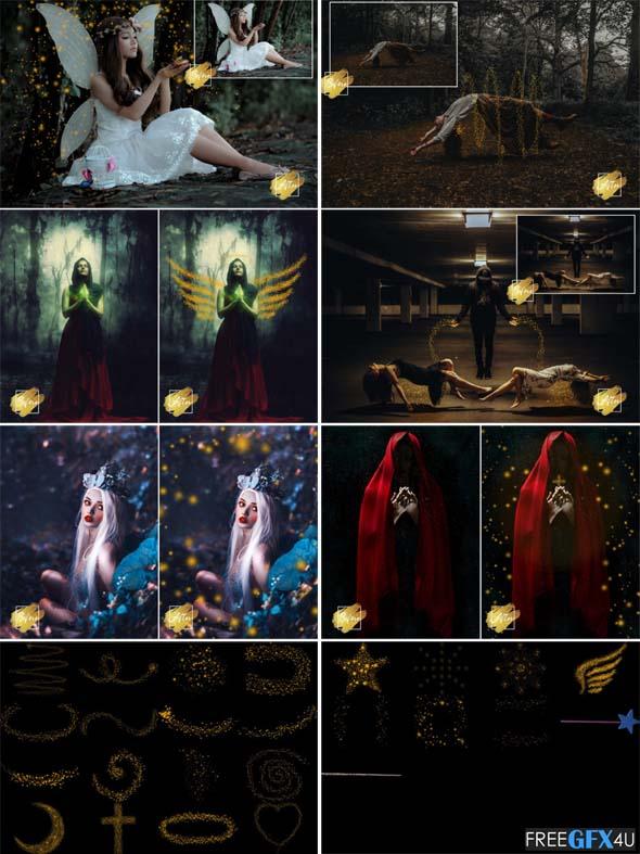 Magical Cover 25 Dreamy Sparkle Overlays
