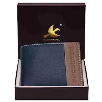 Hornbull branded leather wallet