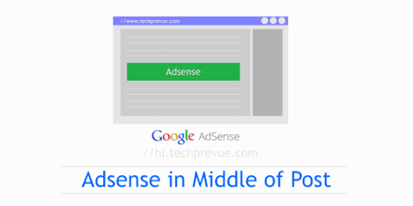 Insert Ads Between Post Content in AMP Blogger Template Automatically