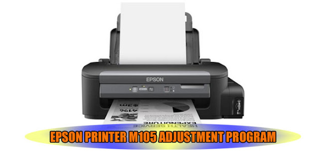 EPSON M105 PRINTER ADJUSTMENT PROGRAM