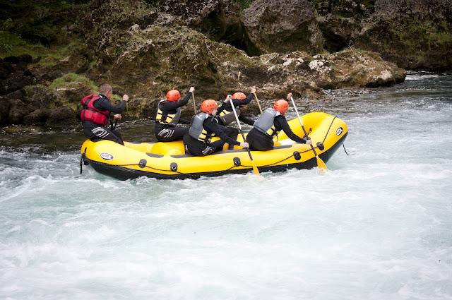 Rafting on Una River, Bosnia and Herzegovina