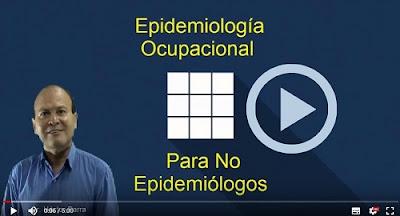 Curso de Epidemiología Ocupacional, clase demostrativa