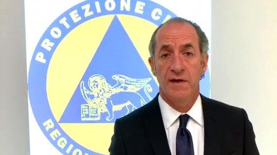 """Veneto, Zaia: """"Dati per confermare zona gialla"""""""