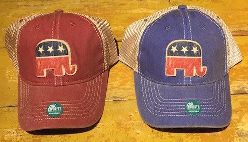 Republican Elephant Trucker Hats 234d015c3b3
