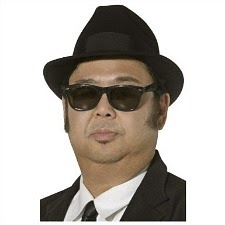 Blues Brothers Fedora Hat - Black