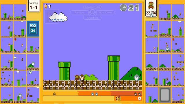 Super Mario Bros. 35 World 1-1 die to Goomba 1 coin World Count Challenge