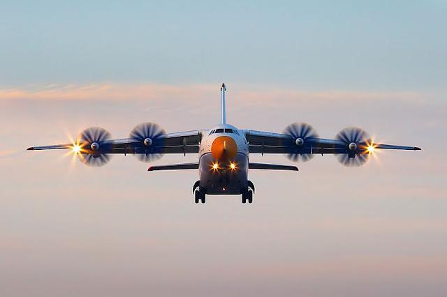 Gambar 9. Foto Pesawat Angkut Militer Antonov An-70