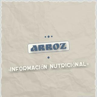 arroz blanco informacion nutricional calorias beneficios nutrientes