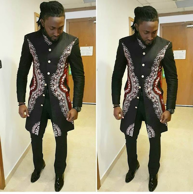 Latest Uti Nwachukwu's Ankara Styles for guys and men