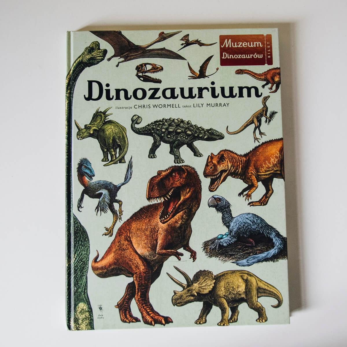Dinozaurium Dwie Siostry książka