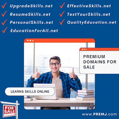 Skills Domains For Sale (CLICK HERE TO VIEW FULL LIST)