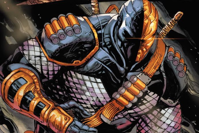deathstroke dc  Anggota Secret Society of Supervillains