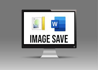 save image di word dokumen