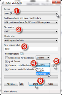 Buat bootloader windows dengan rufus