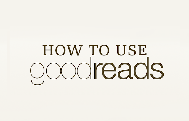 Goodreads logo with post title