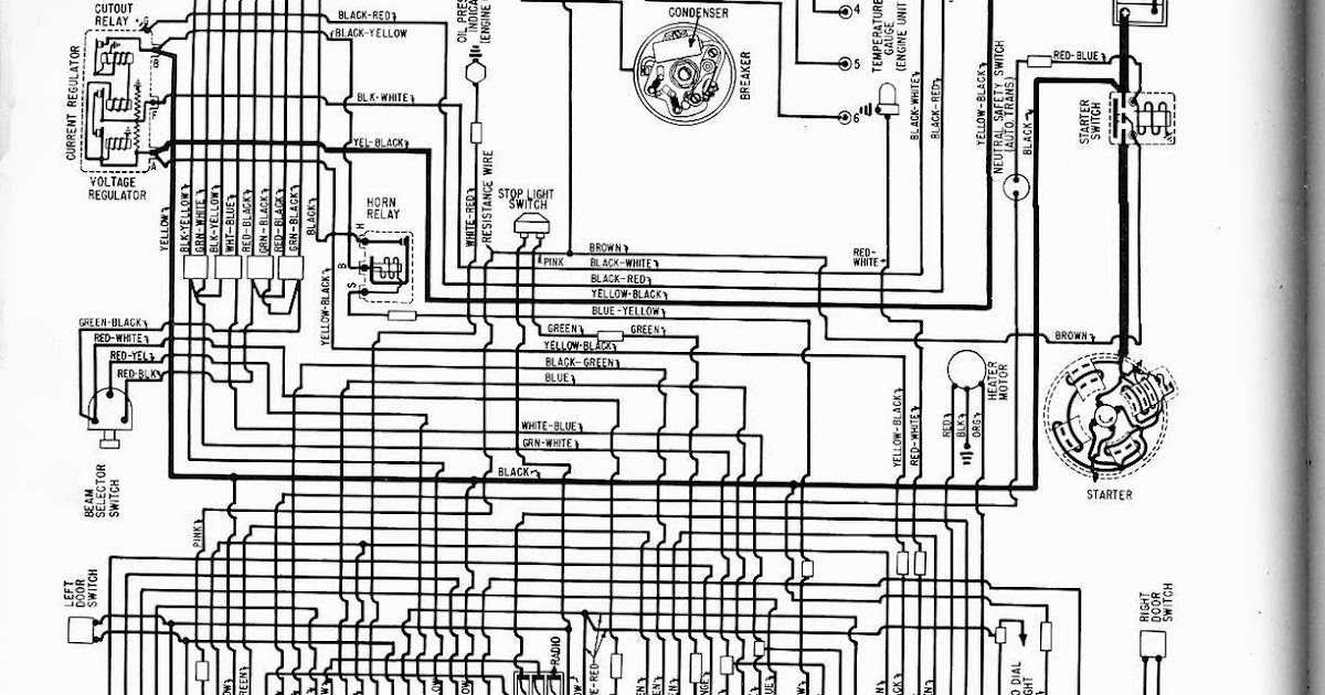 Free Auto Wiring Diagram: 1960 Ford Falcon V6 Wiring
