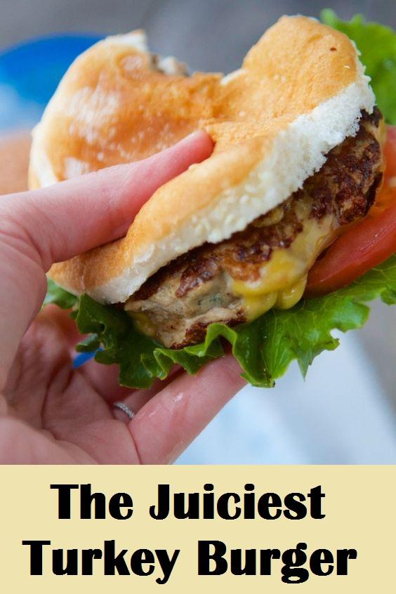 The Juiciest Turkey Burger
