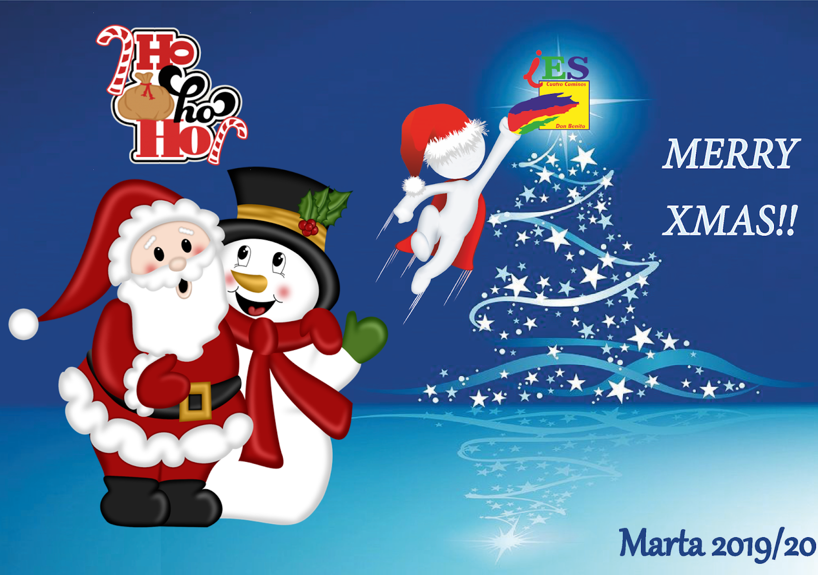 Eso Christmas Contest 2020 Marta English: XMAS TIME!!!!