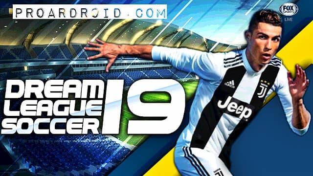 لعبة Dream League Soccer 2019 v6.03 مهكرة كاملة للاندرويد (اخر اصدار) logo