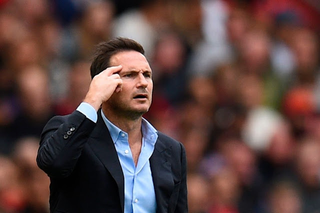 EPL: Lampard reveals why Chelsea lost 4-0 to Man Utd
