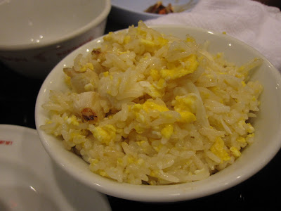 Bangkok, Scala Shark's Fin, crab fried rice