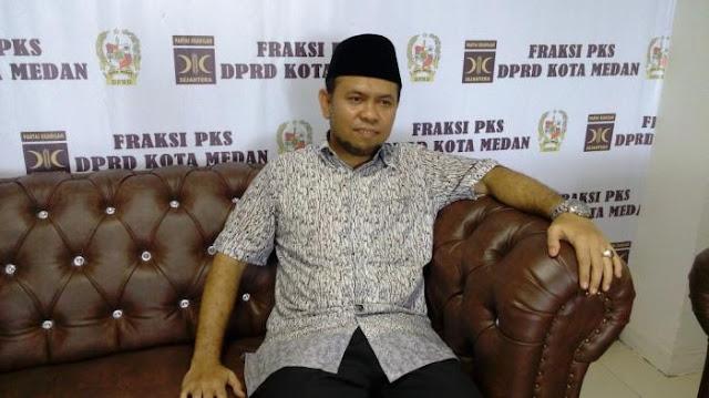 F-PKS Medan Pesimis Lihat Direksi PD Sekarang