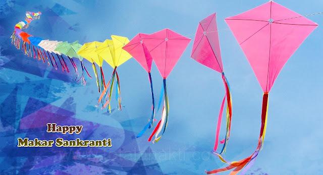 Makar Sankranti HD greetings for facebook