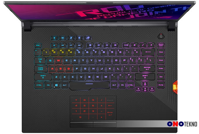 "3 LAPTOP GAMING ASUS ROG STRIX "" COMPACT, POWERFULL, FUTURISTIS """