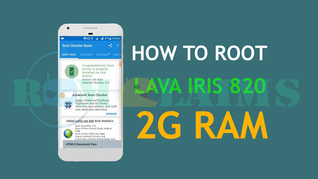 How To Root Lava iris 820 (2GB) Device Easy Way 100% Working