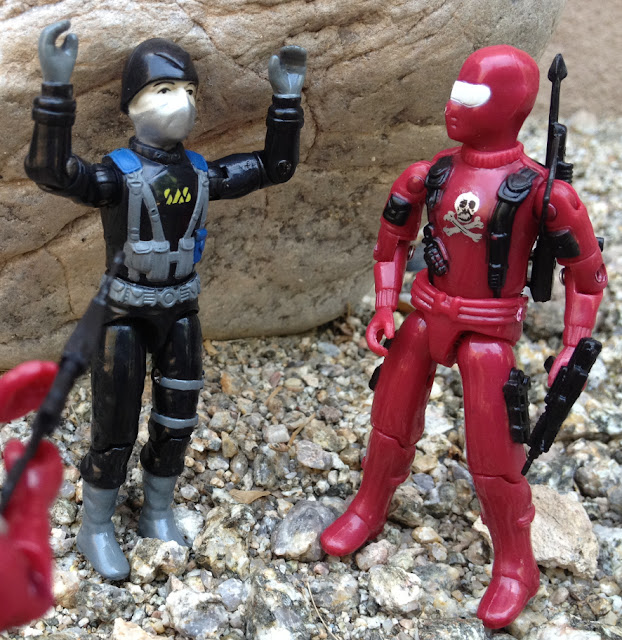 Red Shadows Cobra Invasor, Black Major, Snake Eyes, Factory Custom, Action Force, Bootleg, Hunter, Cobra Officer