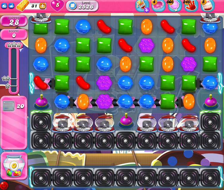 Candy Crush Saga level 2526