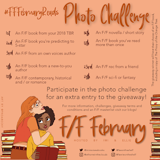 F/F February Reads photo challenge