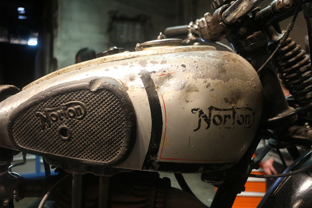 the one moto show number 9 custom build motorcycle norton motorcycle cafe racer