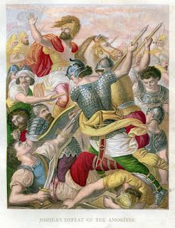 Joshua's defeat of the Amorites