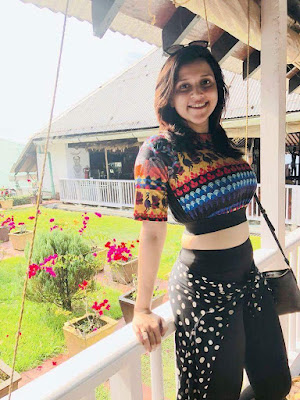 Tollywood Actress Mannara Chopra  IMAGES, GIF, ANIMATED GIF, WALLPAPER, STICKER FOR WHATSAPP & FACEBOOK