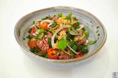 Le Chameau Bleu - Blog de Cuisine - Recette du tartare de boeuf à la vietnamienne