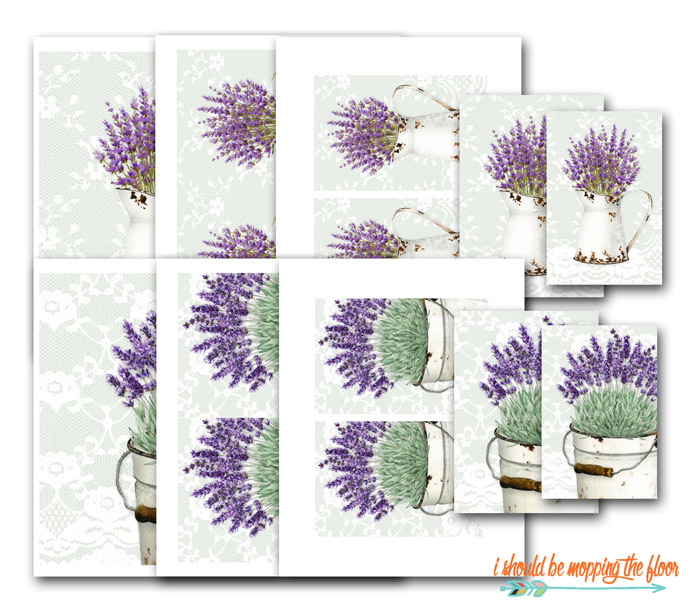 Printables with Lavender