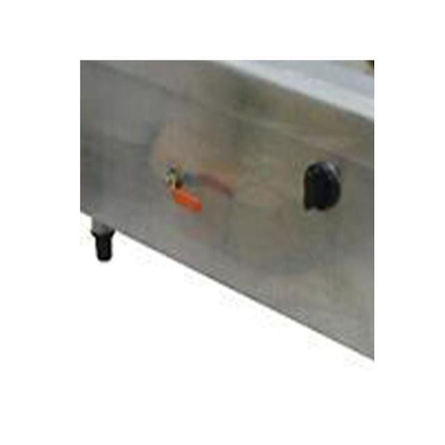 Núm vặn điều chỉnh nhiệt độ của bếp á 3 họng 2 vòi nước