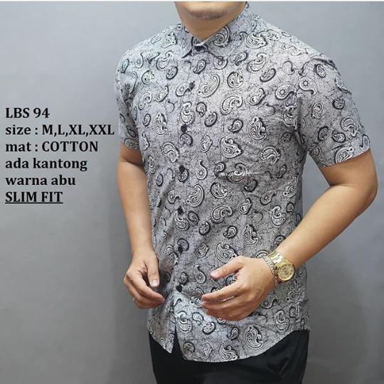 Model Baju Batik Pria Terbaru Lengan Panjang Dan Pendek Modern 2019