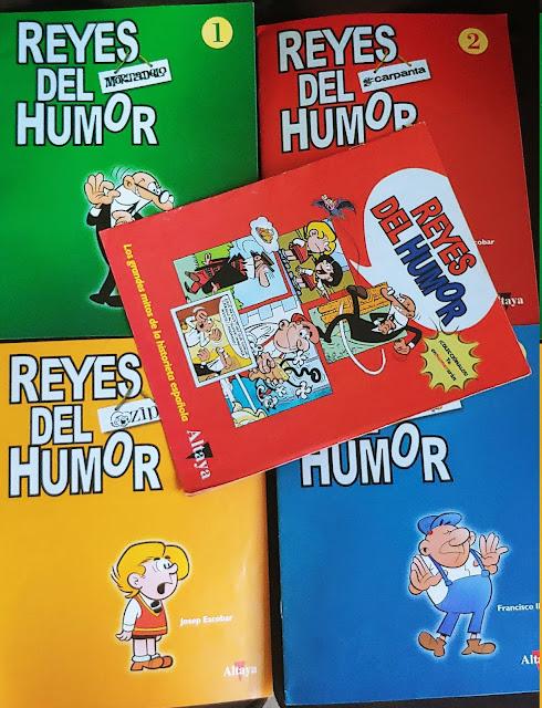 Portadas de Reyes del Humor