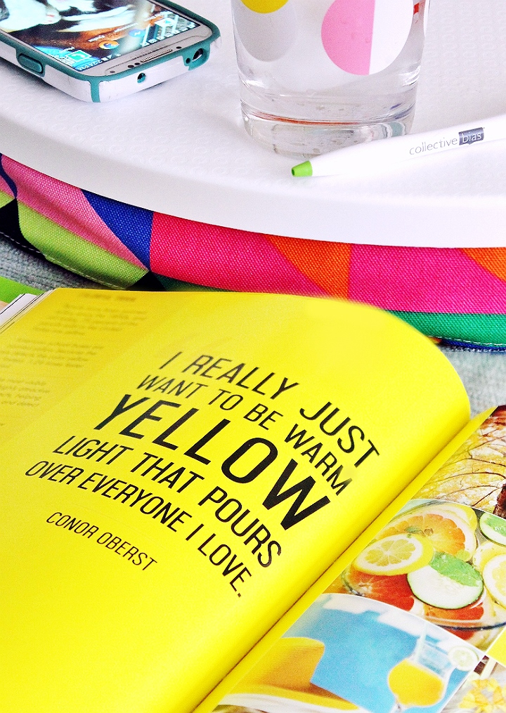 Explore the meaning of color within your life and learn how to harness your color story to empower what moves you with Moll Anderson's new book- Change Your Home, Change Your Life, A Color Story. #InvigoratingYellow #LiveColor (AD)